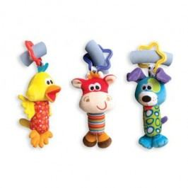Playgro Zabawki do wózka, zwierzątka - 3 sztuki
