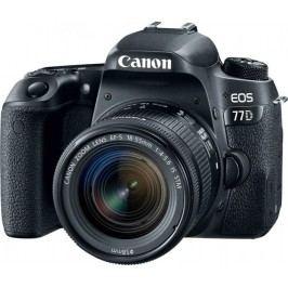 Canon lustrzanka cyfrowa EOS 77D + 18-55 IS STM