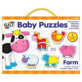 Galt Puzzle dziecięce – farma