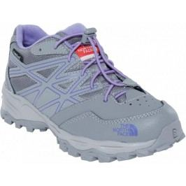 The North Face Buty Jr Hedgehog Hiker Wp Q-silver grey/Paisley purple 32