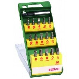 Bosch zestaw bitów, 16 elementów