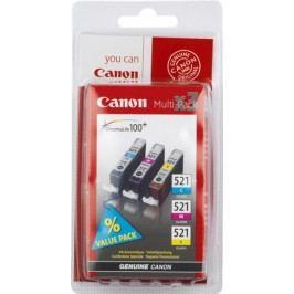 Canon zestaw tuszy CLI-521 C/M/Y Pack